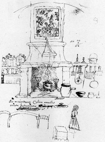 Dal disegno di una cucina monastica un percorso attraverso la ...